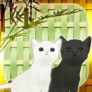 子猫たちと七夕